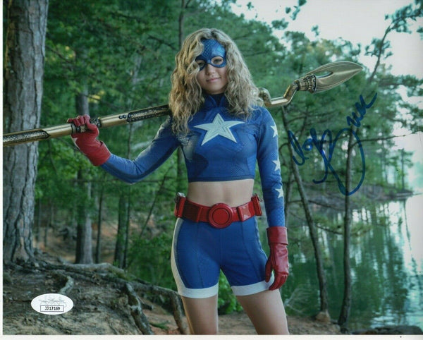 Brec Bassinger Stargirl Signed Autograph 8x10 Photo JSA #2