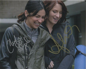 Chyler Leigh Floriana Lima Supergirl Signed Autograph 8x10 Photo #3 - Outlaw Hobbies Authentic Autographs