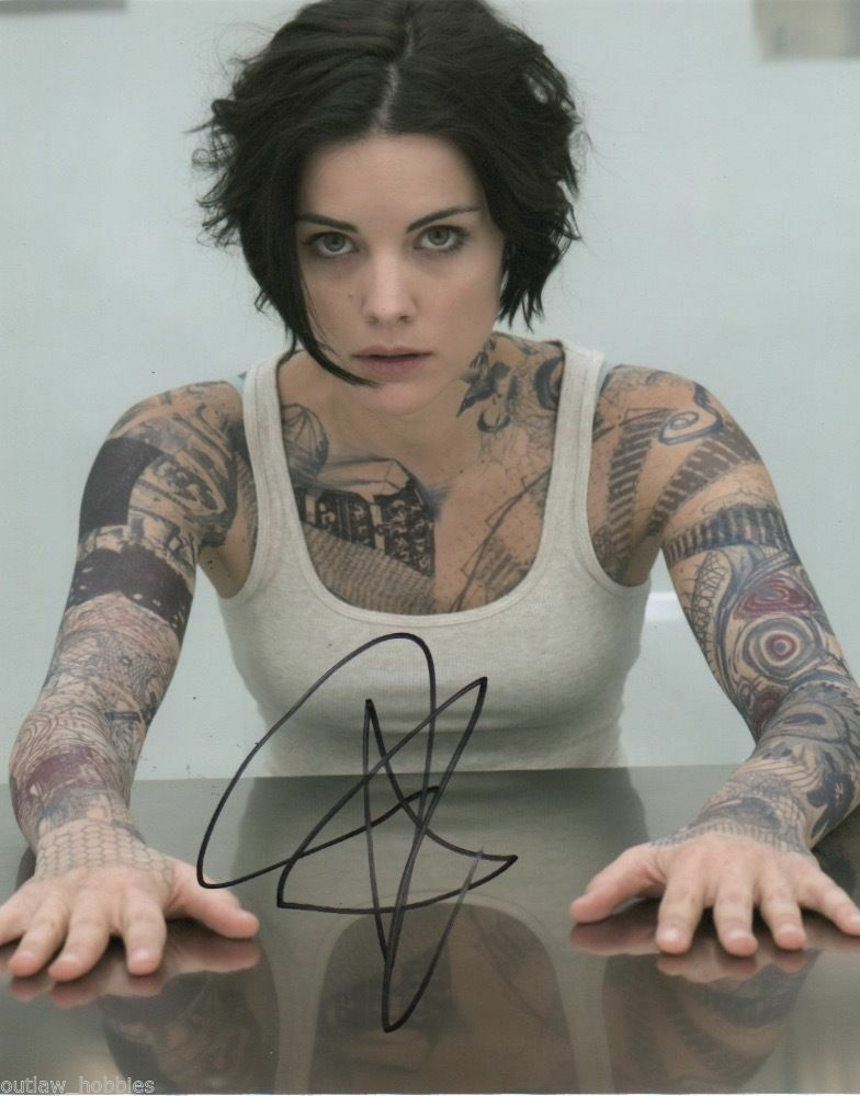 Jaimie Alexander Blindspot Signed Autograph 8x10 Photo - Outlaw Hobbies Authentic Autographs
