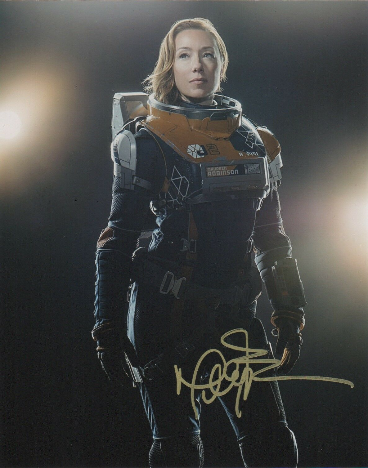 Molly Parker Lost in Space Signed Autograph 8x10 Photo - Outlaw Hobbies Authentic Autographs