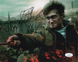 Daniel Radcliffe Harry Potter Signed Autograph 8x10 Photo JSA #2