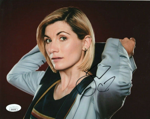 Jodie Whittaker Doctor Who Signed Autograph 8x10 Photo JSA