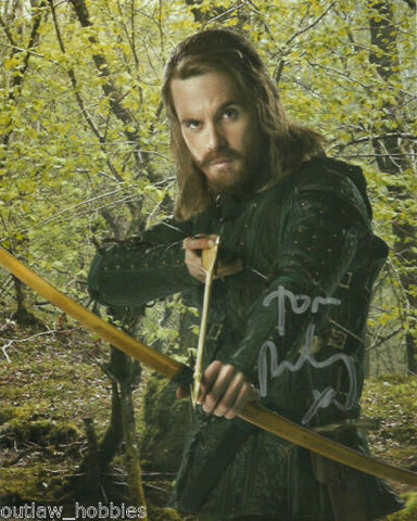 Tom Riley Signed Autograph 8x10 Doctor Who Photo - Outlaw Hobbies Authentic Autographs
