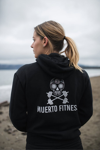 Hoodlife BLACK - Muerto Fitness