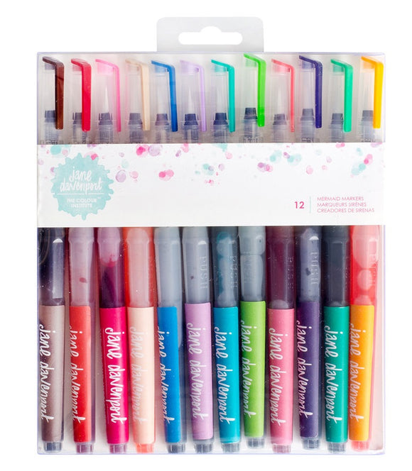 Jane Davenport The Color Institute Mermaid Markers