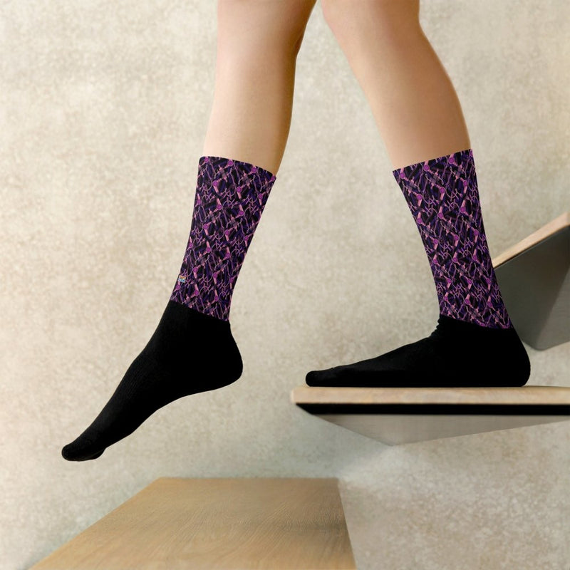 ToonyYani heart pattern Socks