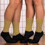 Heart tessellation Socks