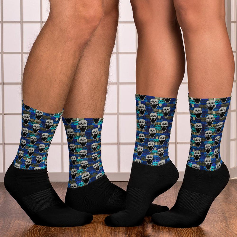 Skull pattern Socks