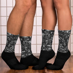 Toonymania Black/Grey Socks