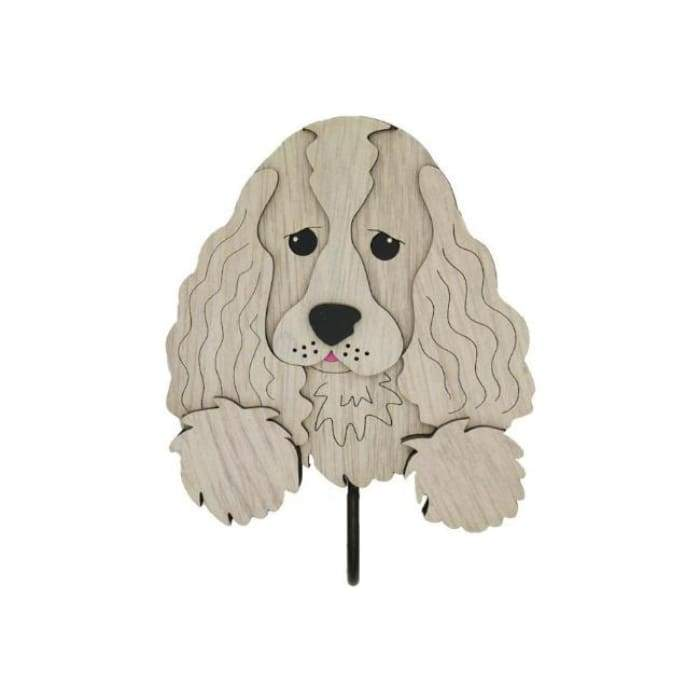 American Cocker Spaniel Woof Rack/Dog wall Decorations - We Believe