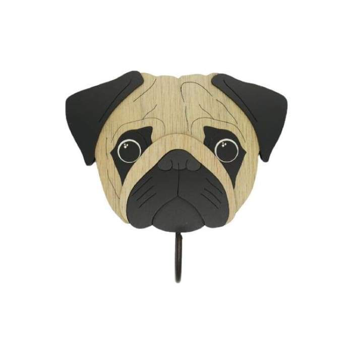 Carlino Pug Woof Rack/Dog wall Decorations - We Believe
