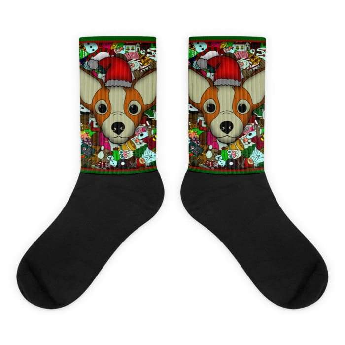Christmas Exclusive Chihuahua Socks - We Believe