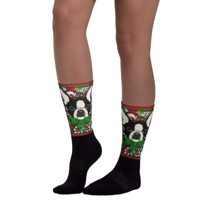 Christmas Exclusive French Bulldog Socks - We Believe