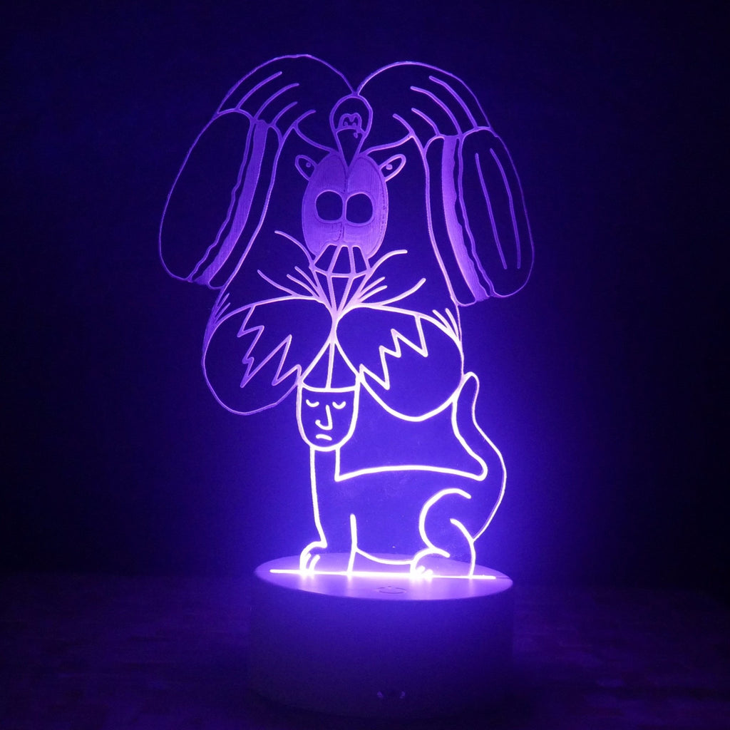 Doggiberto LED Night Light - We Believe