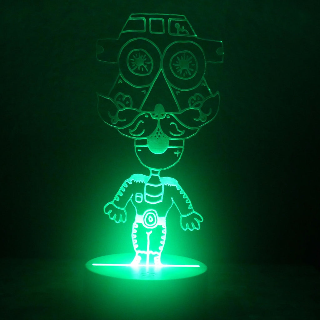 El Charrongo LED Night Light - We Believe