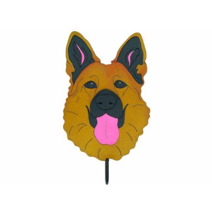 German Shepherd Woof Rack/Dog wall Decorations - We Believe