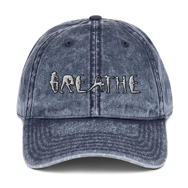 Breathe Denim Unisex Fitted  Hat with Adjustable Strap