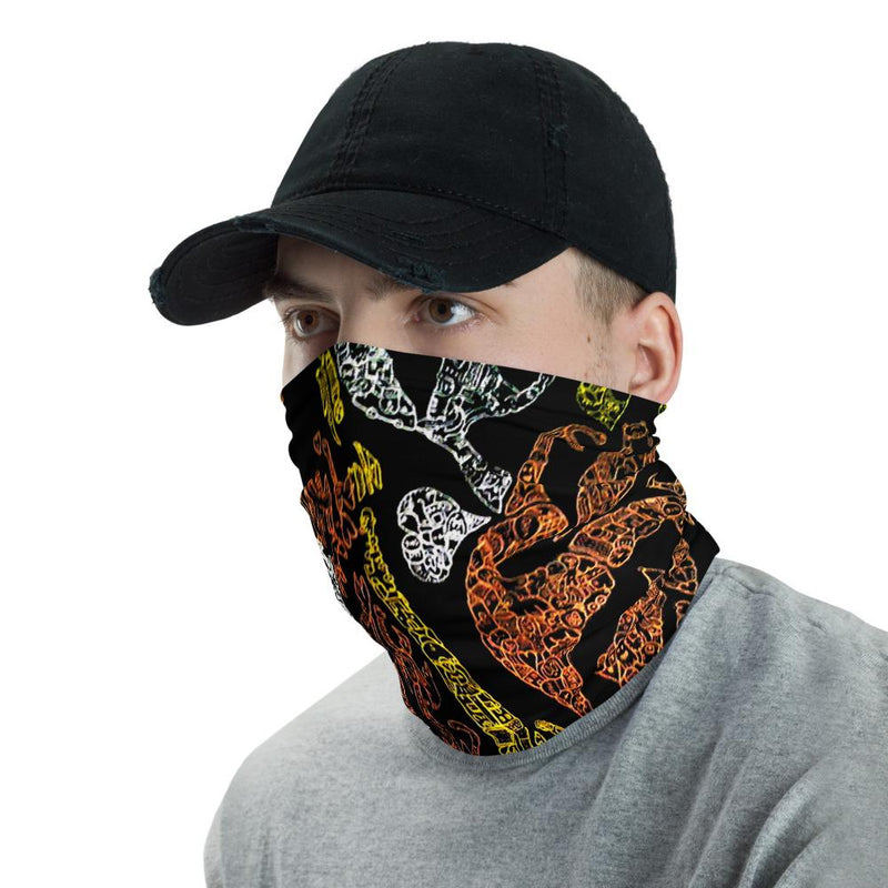 In Jesus Hands Face Protector Neck Gaiter