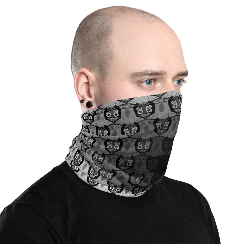 Black and White Face Protector/Neck gaiter