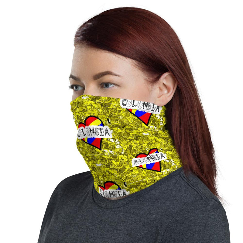 Colombia Love Neck Gaiter