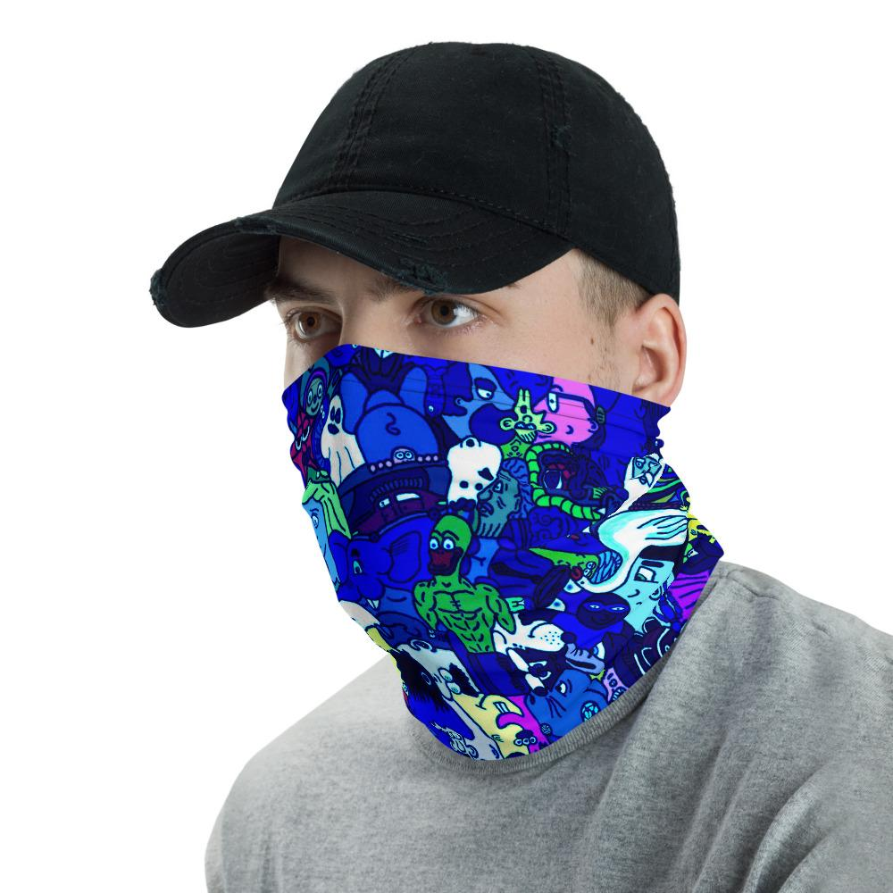 Blue Face Protector/Neck gaiter