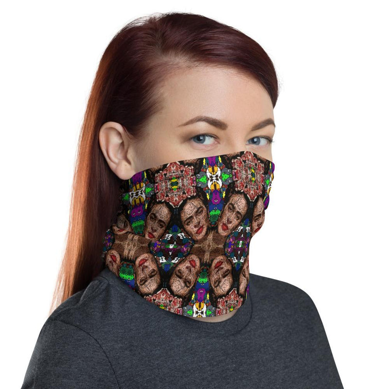 Frida Kahlo Neck Gaiter