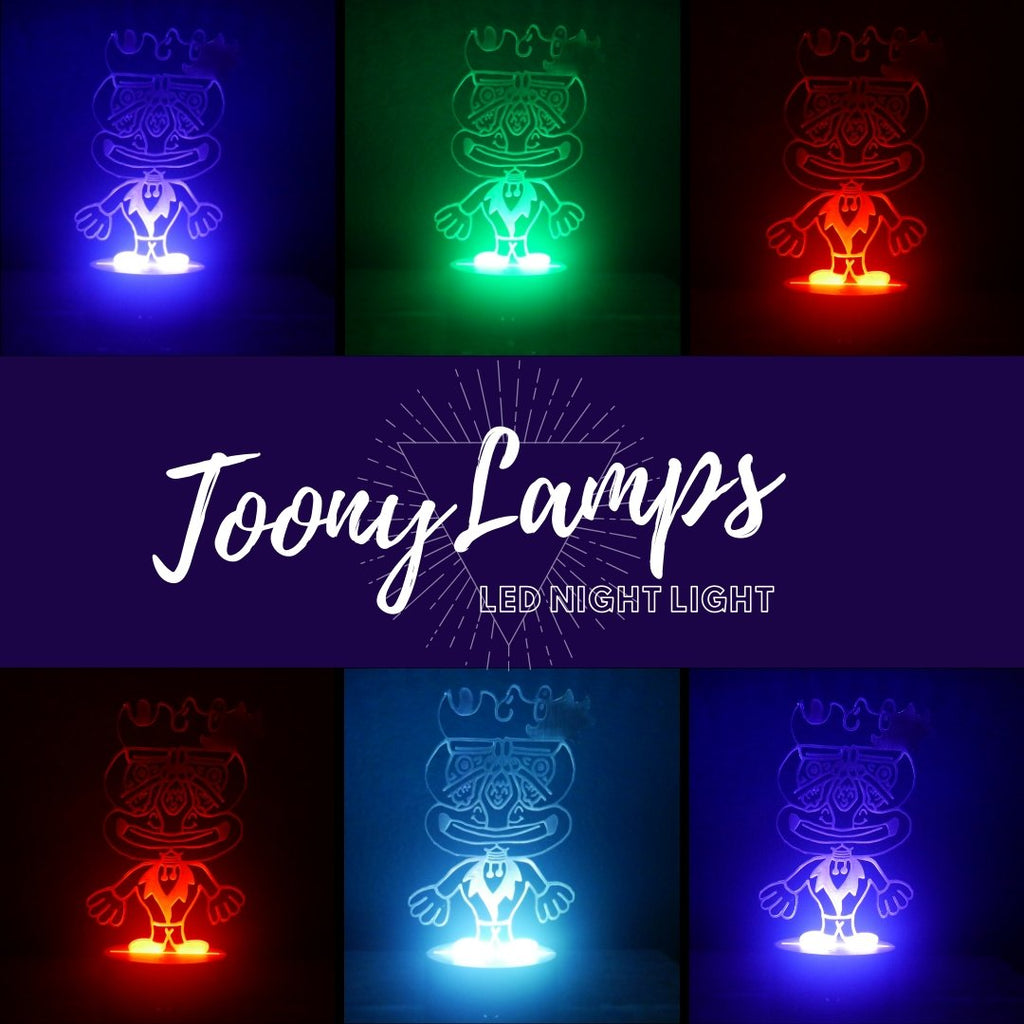 Mr. Toony LED Night Light - We Believe