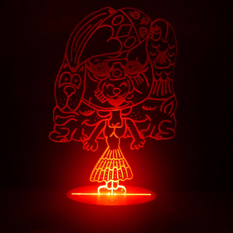 Mrs. Toony LED Night Light - We Believe
