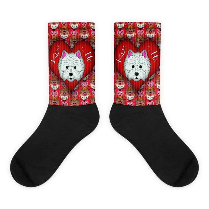 West Highland Terrier Love Socks - We Believe