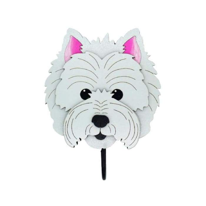 West Highland White Terrier Woof Rack/Dog wall Decorations - We Believe