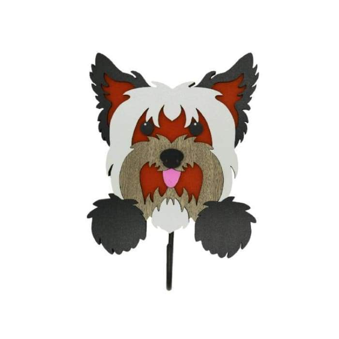 Yorkshire Terrier Woof Rack/Dog wall Decorations - We Believe