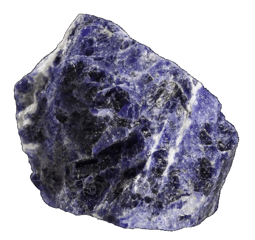Raw Sodalite Gemstone