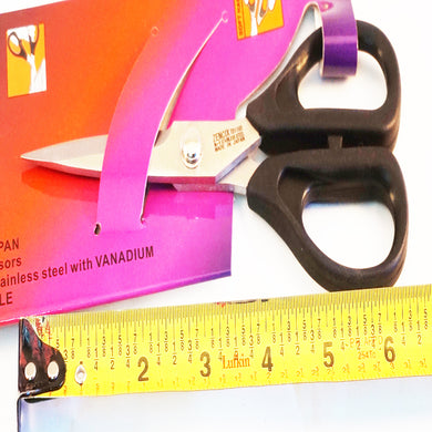 Zencix sewing scissors-fabric scissors from Japan-Soft Handle 165mm 6inch