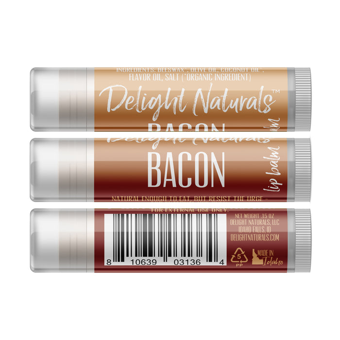 Bacon Lip Balm - Three Pack