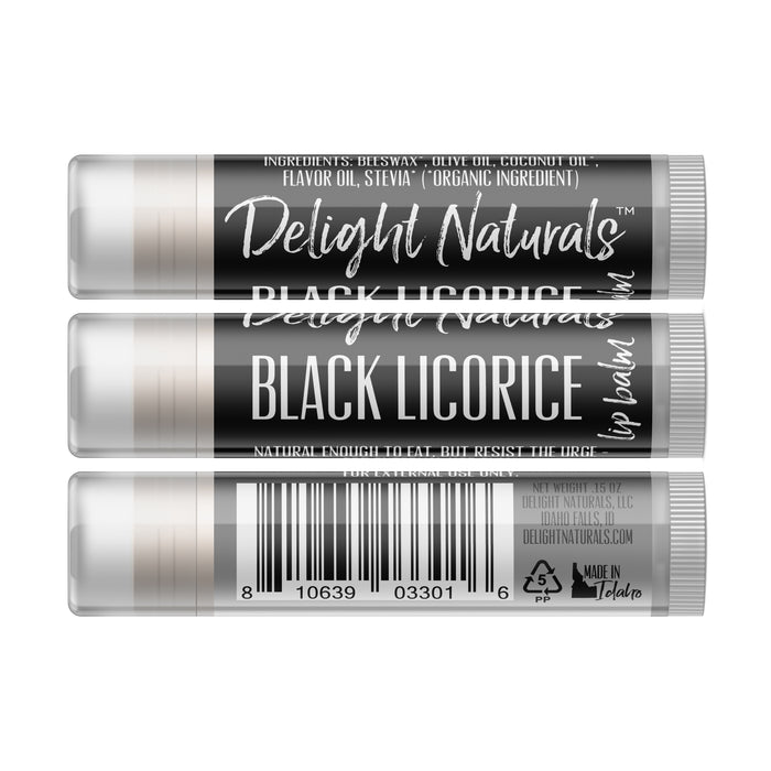 Black Licorice Lip Balm