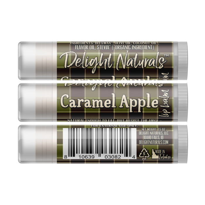 Caramel Apple Lip Balm - Fall Flannels Limited Edition