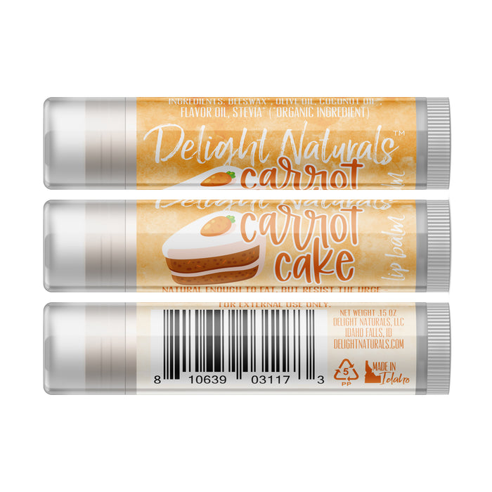 Carrot Cake Lip Balm - Three Pack