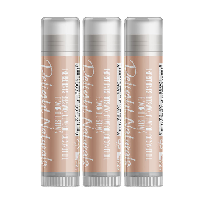 Champagne Wine Lip Balm - Three Pack - delight-naturals