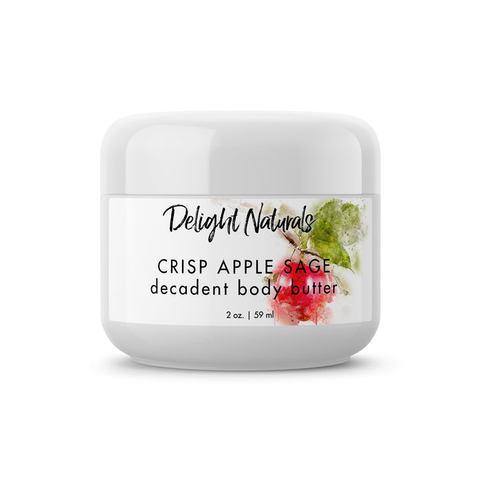 Crisp Apple Sage Decadent Body Butter