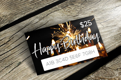 Delight Naturals Happy Birthday Gift Card Version 2 - delight-naturals
