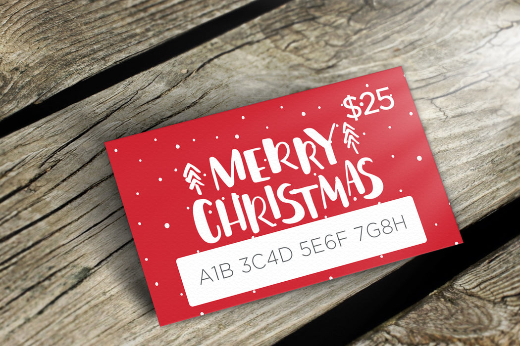 Delight Naturals Merry Christmas Gift Card - delight-naturals