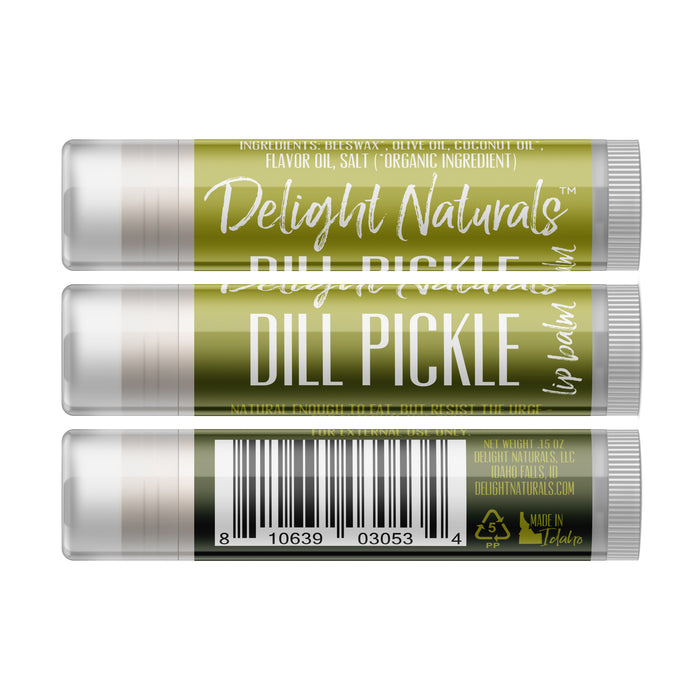 Dill Pickle Lip Balm - Five Pack