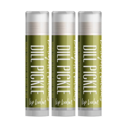 Dill Pickle Lip Balm - Set of Three