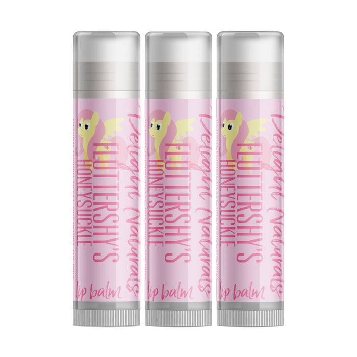 Fluttershy's Honeysuckle Lip Balm - Three Pack - delight-naturals
