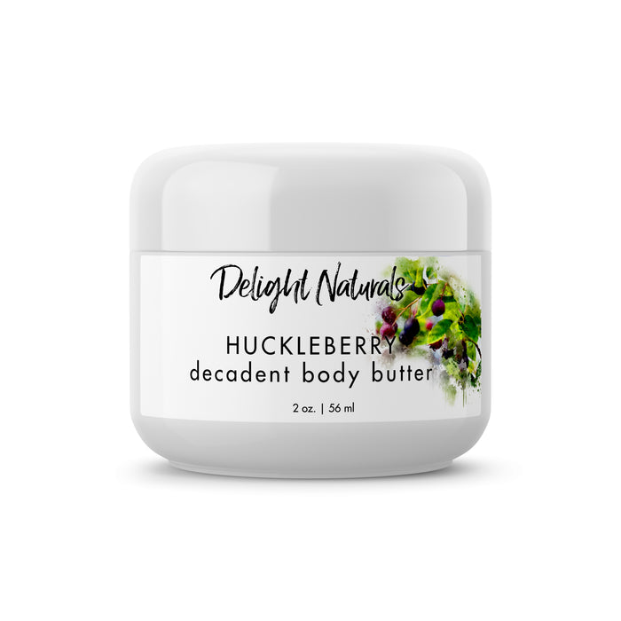Huckleberry Decadent Body Butter