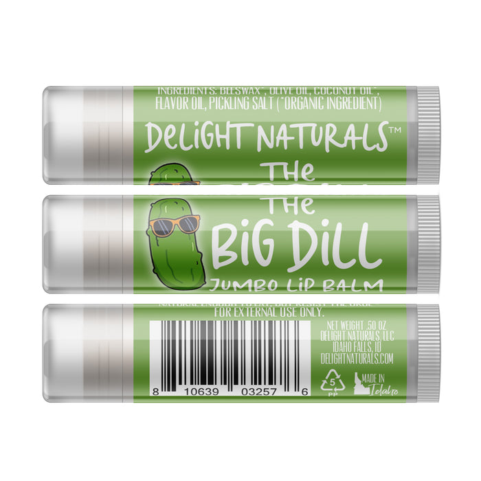 Jumbo Dill Pickle Lip Balm