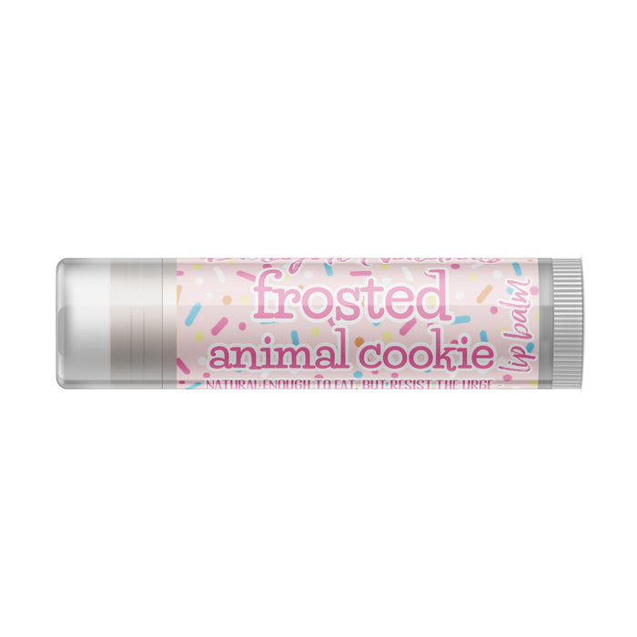 Jumbo Frosted Animal Cookie Lip Balm
