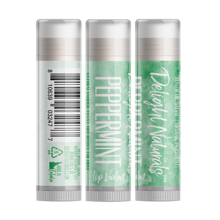 Jumbo Peppermint Lip Balm