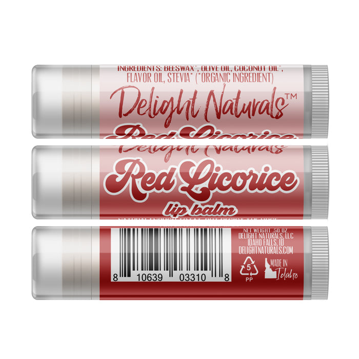 Jumbo Red Licorice Lip Balm