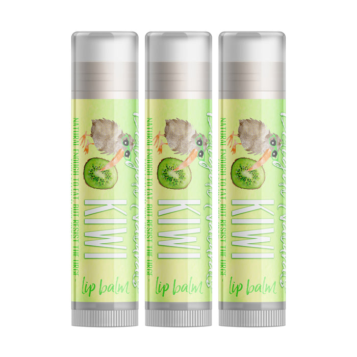 Kiwi Lip Balm - Set of Three